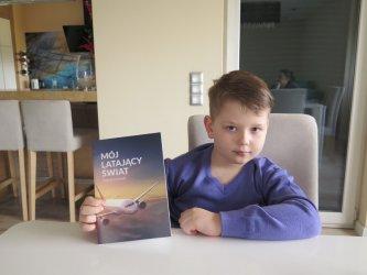 8-letni piotrkowianin napisał książkę