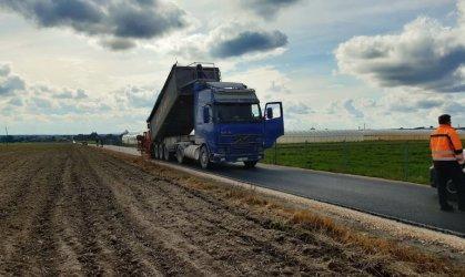 Droga dojazdowa do pól w Gomulinie gotowa