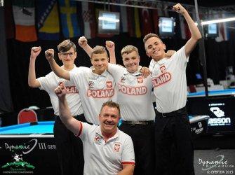 Oskar Jamorski bilardowym mistrzem Europy!