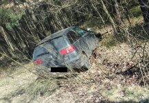 25-letni kierowca ibizy uciekł przed policją do lasu