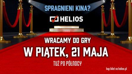 Kino Helios ponownie otwarte