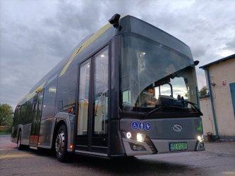 Jeszcze w sierpniu autobus elektryczny wyjedzie na piotrkowskie ulice!