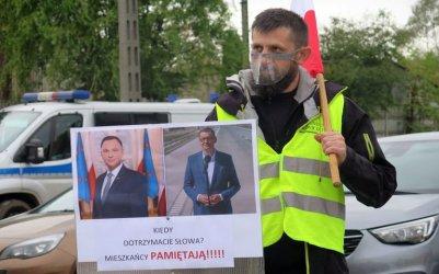 Chcą, aby premier spełnił swoją obietnicę. Blokada DK12 w Sulejowie