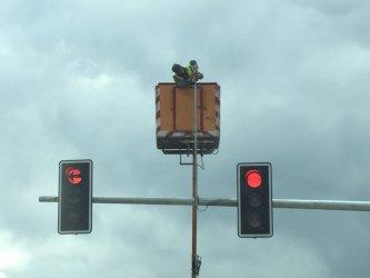 Montują kamery na skrzyżowaniu