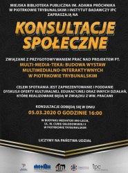 Wystawy multimedialne i interaktywne w Piotrkowie. Konsultacje społeczne w mediatece