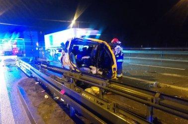 Śmiertelny wypadek na S8 w Wolborzu