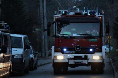 Pożar budynku mieszkalnego w  Majkowie