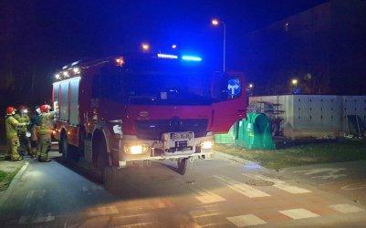 Nocna seria pożarów w Piotrkowie (zdjęcia)