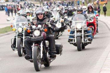 Parada motocyklowa w Bełchatowie