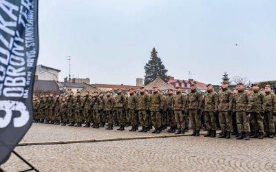 Rezerwiści zasilili szeregi Wojsk Obrony Terytorialnej