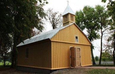 Kościółek w Grabicy nabrał nowego blasku