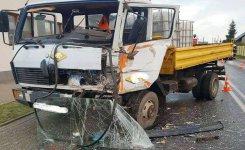 Jedna osoba ranna w wypadku w gminie Ujazd