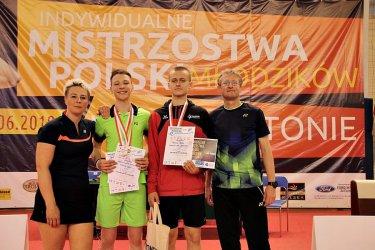 Piotrkowski badmintonista wicemistrzem Polski