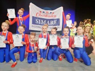 Cheerleaders Simare brązowymi medalistkami Mistrzostw Polski Cheerleaders PSCh