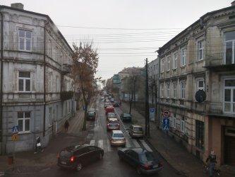 U zbiegu ulic Wojska Polskiego i Sienkiewicza tworzą się korki!