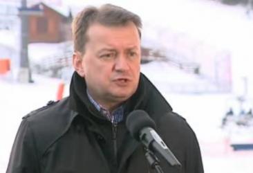 Minister Błaszczak na Górze Kamieńsk
