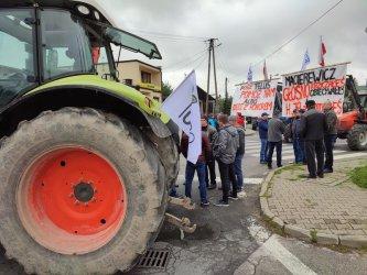 Rozpoczął się dwudniowy protest rolników w Srocku