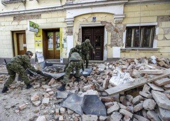 Partnerskie miasto Piotrkowa niemal doszczętnie zniszczone
