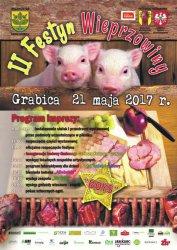 Grabica zaprasza na II Festiwal Wieprzowiny