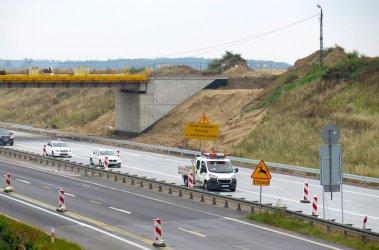 Nowy fragment A1 oddany do użytku. Drogowcy puścili ruch po zachodniej jezdni