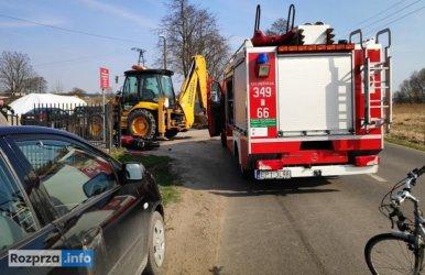 Na drodze w Rozprzy zginął motocyklista