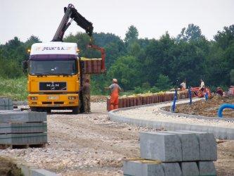 Trwają prace przy budowie obwodnicy N-S