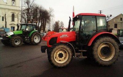 Rolnicy z powiatu piotrkowskiego też ruszają na Warszawę