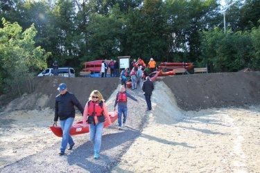 Otwarto nowy szlak wodny w Sulejowie