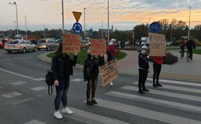 Nie ustają protesty. Tym razem zablokowano rondo Sulejowskie (GALERIA)
