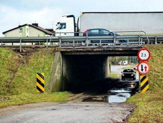 Tunel będzie jeszcze przejezdny