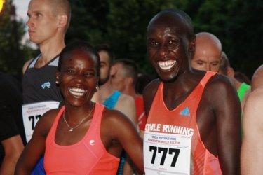 Zawodnicy z czterech kontynentów na starcie Półmaratonu