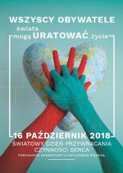 Europejski Dzień Przywracania Czynności Serca razem z uczniami piotrkowskich szkół