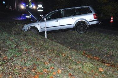 Wypadek w Jaksonku, kierowca na podwójnym gazie