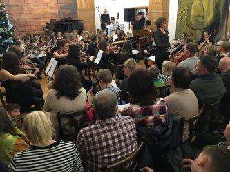 Kolędy i pastorałki w szkole muzycznej