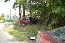 Mimo zakazu, prowadził pojazd i spowodował wypadek