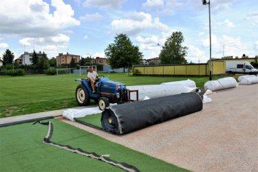 Sztuczna trawa na boisku Concordii