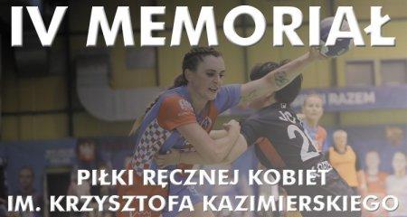 W piątek początek IV Memoriału Krzysztofa Kazimierskiego