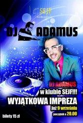 DJ Adamus w Piotrkowie
