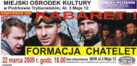 Piotrków: Występ Formacji Chatelet (22.03.09)