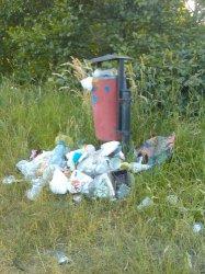 Bugaj: Wszędzie pełno śmieci