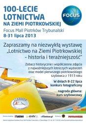 Konkurs i wystawa na 100-lecie lotnictwa w Piotrkowie