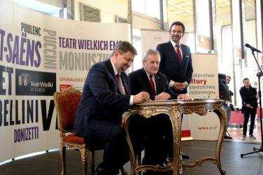 Teatr Wielki w Łodzi otrzyma 3 mln zł