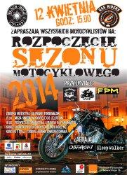 Piotrkowscy motocykliści rozpoczynają sezon
