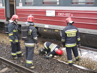 Ogień w pociągu