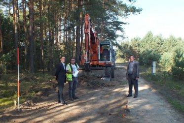 Inwestycje drogowe w gminie Aleksandrów