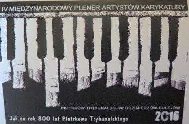 Karykaturzyści ponownie w Piotrkowie