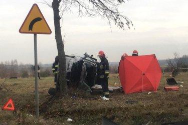 Śmiertelny wypadek w Klukach