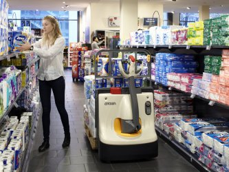 Elektryczne wózki paletowe dedykowane dla branży retail