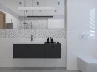 Efektowna, nowoczesna łazienka. Jak wybrać płytki?