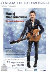 Miecznikowski z koncertem świątecznym w Piotrkowie